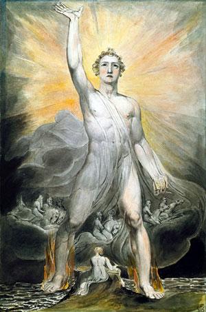 Blake Angel of Revelation